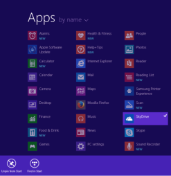 Windows 8 App Pining