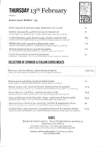 Scanner pro menu